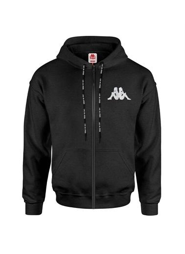 Kappa Kapüşonlu Ceket Baful  Siyah